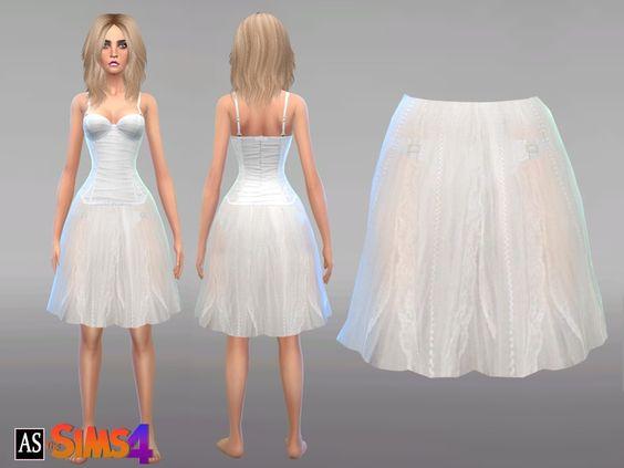 Alexandra_Sine's Angelic White Skirt