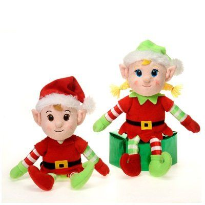 "Stantas Secret Elf Boy and Girl Set 11"" NEW STYLE #Christmas"