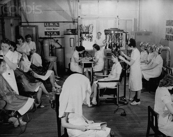 1940s english hair beauty salon make up and hair 1920s for 1950 beauty salon
