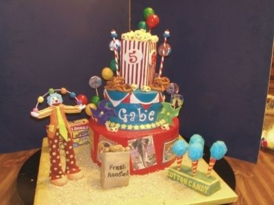 Carnival Treats By daberge on CakeCentral.com