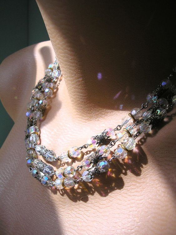 Bridal Backdrop Necklace Bridal Jewelry by CrystalPearlJewelry, $76.00