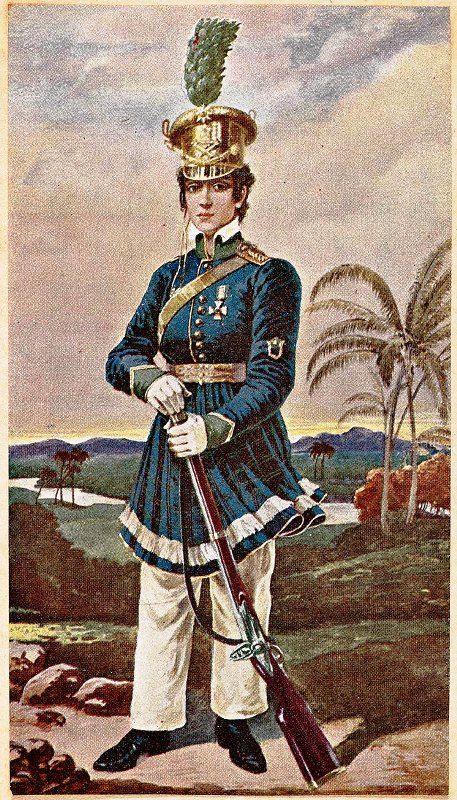 Insubordinada desde nova, Maria Quitéria se vestiu com o uniforme do cunhado para lutar pela independência na Bahia