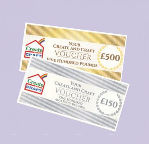 Win a £100 Create and Craft Voucher Crafty Freebies Pinterest - create a voucher