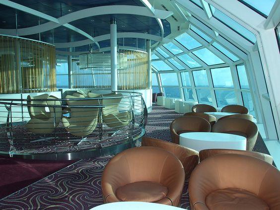 Observation Lounge     /Celebrity cruise line