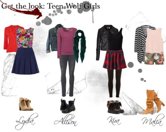 Get the look: Teen Wolf Girls