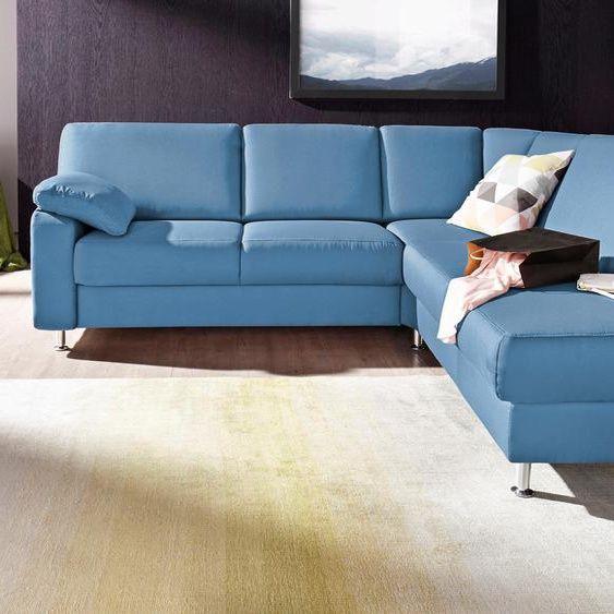 Sit More Eck Couch Grau Stoff Komfortabler Federkern Fsc Zertifiziert In 2020 Grau Stoffe
