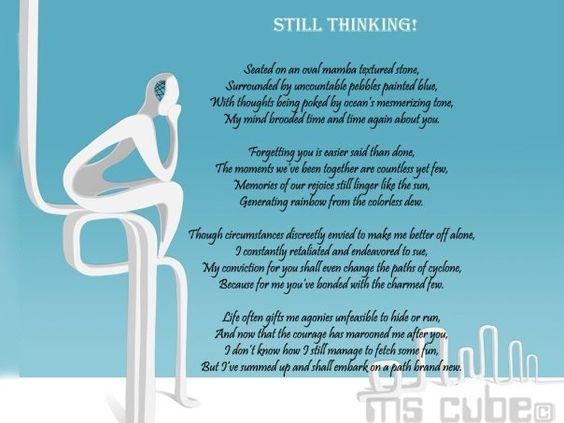 Still Thinking!