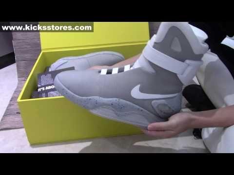 principal Decoración Decrépito  The Best Replica Nike Air Mag Back to Future From Lulu Detailed Check -  YouTube in 2020   Nike air mag, Nike mag, Nike