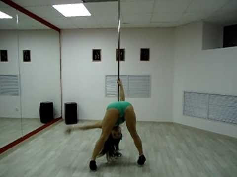 "Pole Dance Студия Танца ""And"" Лейла, танец на пилоне"