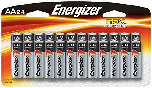 Energizer Aa Batteries Double A Battery Max Alkaline 24 Count E91bp 24 Energizer Alkaline Battery Batteries