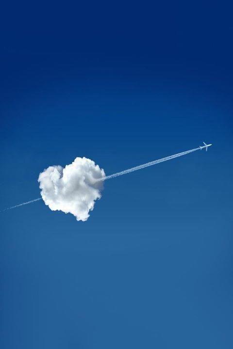 heart in the sky!!