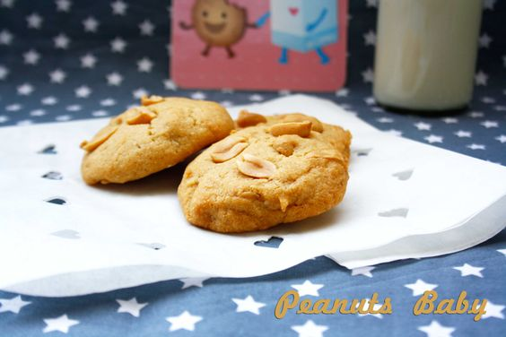Erdnuss-Cookies frei nach Paul