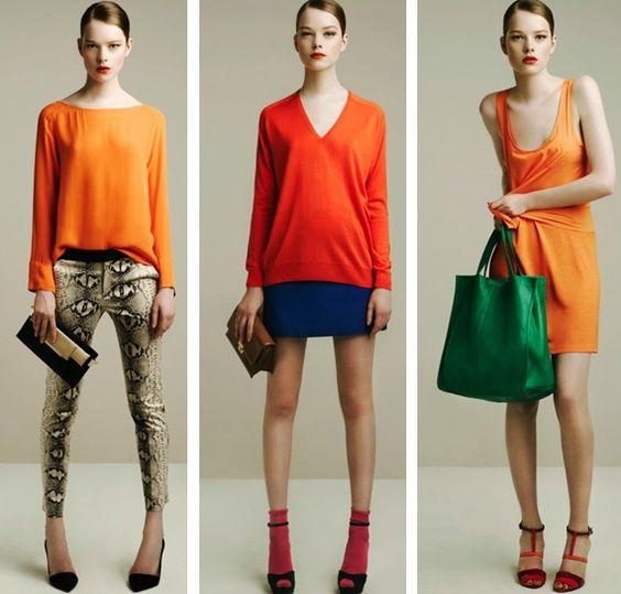 Zara orange hues