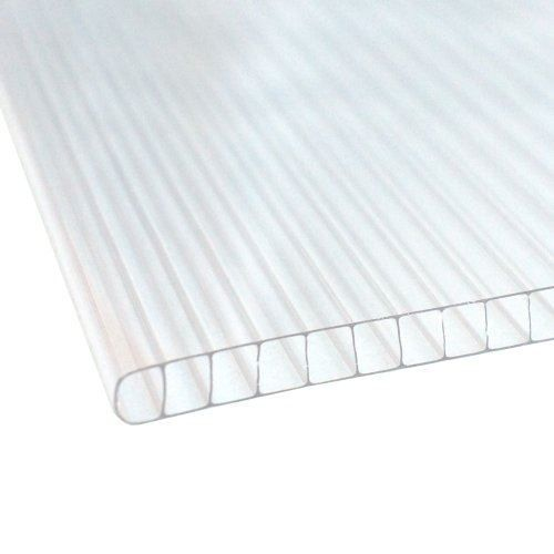 3m X 1047mm Bonus 10mm Polycarbonate Sheet Clear In 2020 Polycarbonate Panels Diy Door Canopy Wall Cladding