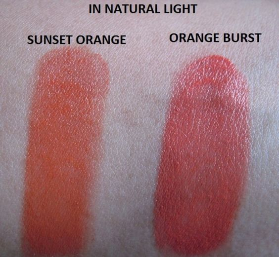 #Lakme #Absolute #Matte #Sunset #Orange #Lipstick #review #price and details on the blog #swatch