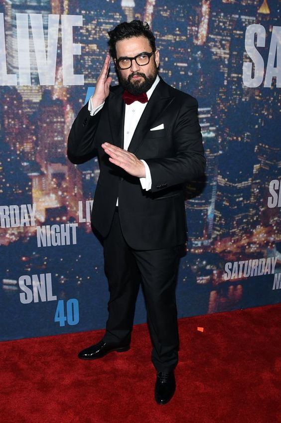Pin for Later: Anyone Who's Anyone Was at the SNL 40th Anniversary Celebration Horatio Sanz