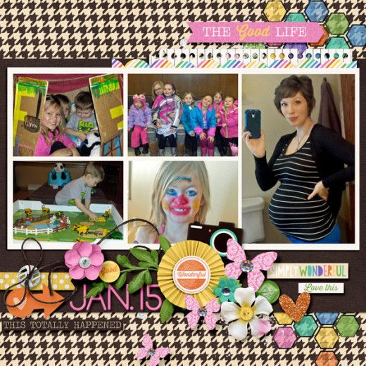 January Moments - Juno Designs and Fiddle Dee Dee
