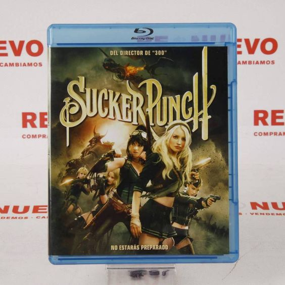 Pelicula bluray SUCKER PUNCH E271044 de segunda mano #pelicula #bluray #suckerpunch #segundamano