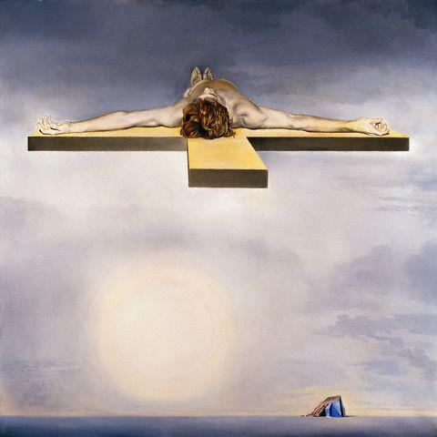 'Le Christ De Gala', Salvador Dali, 1978: