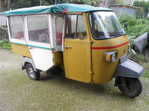 "piaggio ape ""calessino"" for sale (1975) 