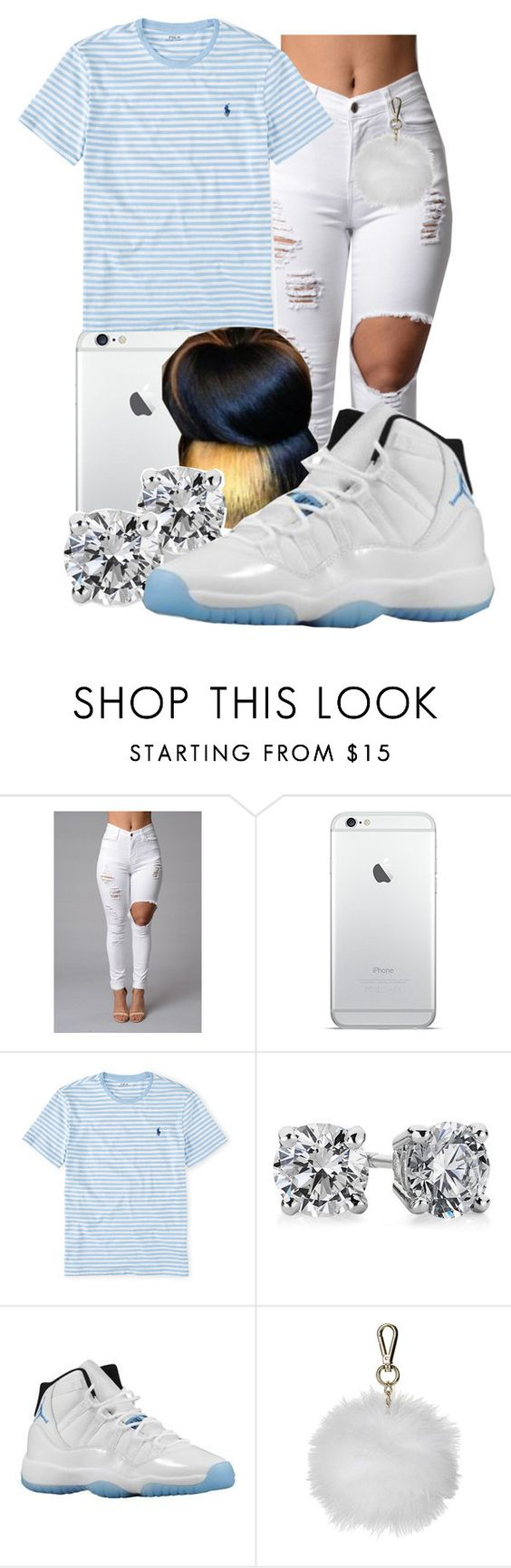 """Loni"" by honey-cocaine1972 ❤ liked on Polyvore featuring Ralph Lauren, Identity, Blue Nile, Retrò and Topshop"