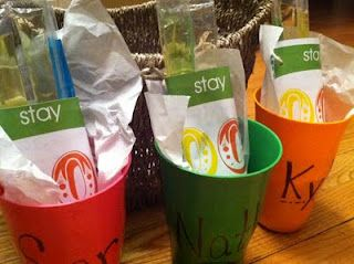 cup with freeze pops for end of year gifts