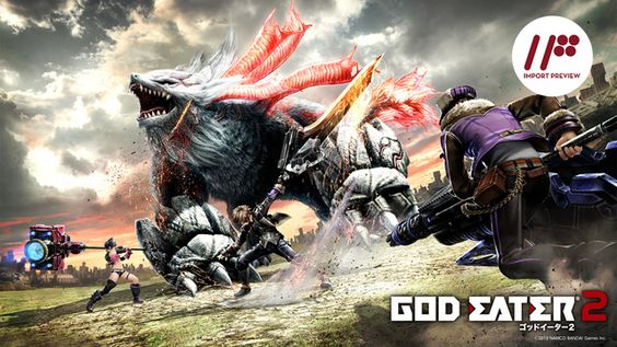 God Eater 2 is a Fun Hunting Game, if That's What You're Looking For - http://videogamedemons.com/2013/12/19/god-eater-2-is-a-fun-hunting-game-if-thats-what-youre-looking-for/