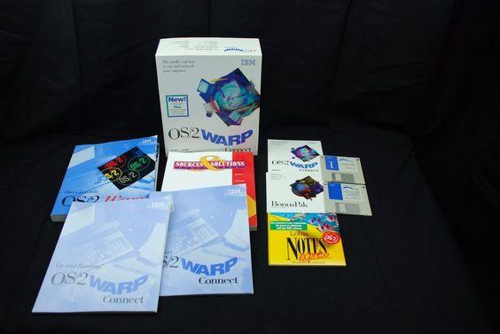 OEM IBM OS/2 WARP Connect V3, Manuals, Booklets& BonusPak CD Plus Diskettes  #IBM