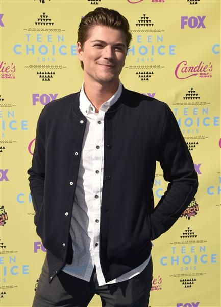 """Scream"" actor Amadeus Serafini attends the 2015 Teen Choice Awards at the Galen Center in Los Angeles on Aug. 16, 2015."