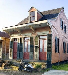 New Orleans Houses The Creole Cottage Shops