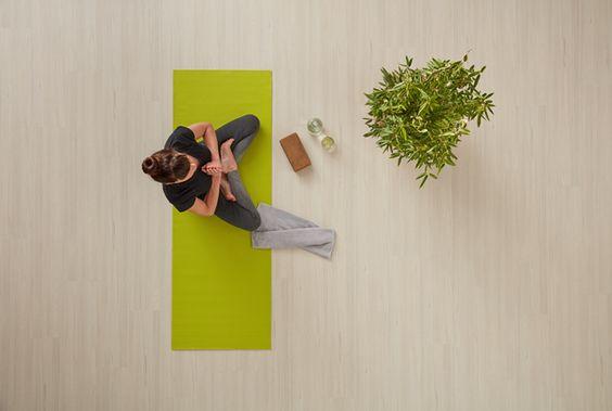 The meditation floor.