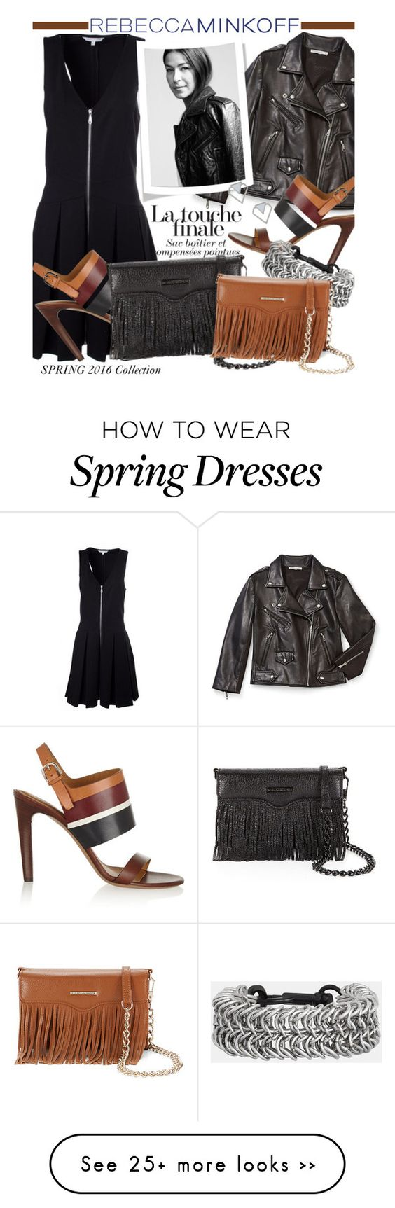 """Style Rebecca Minkoff's Spring 2016 Collection Now"" by honii on Polyvore featuring Rebecca Minkoff, Chloé, rebeccaminkoff and contestentry"