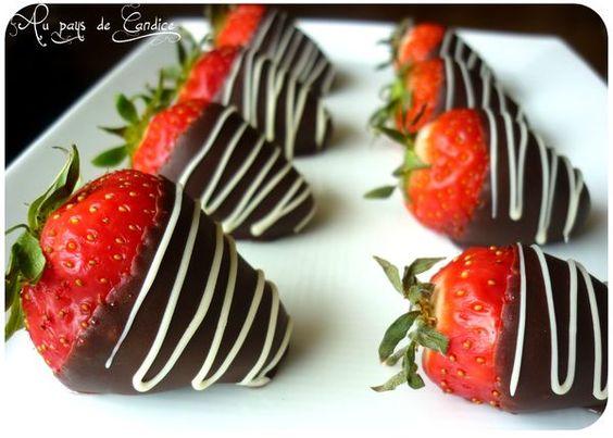 Les fraises au chocolat, une recette ultra simple et tellement gourmande !: