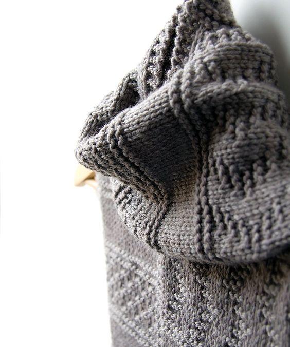 Knitting, Scarfs and Beginner knitting on Pinterest