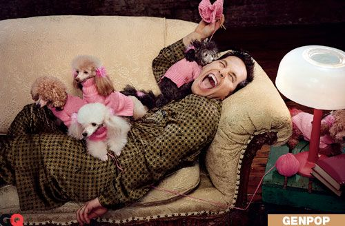 Paul Rudd, Covered in Puppies