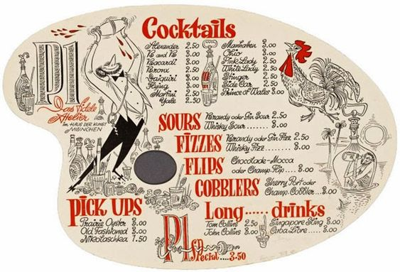 A table of mid-century menu delights from the New York Public Library .                                                             From...