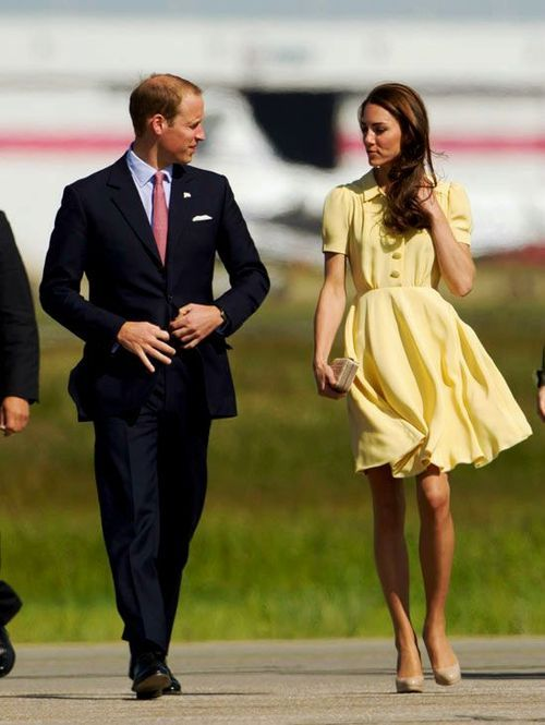 Kate's dress is so pretty!