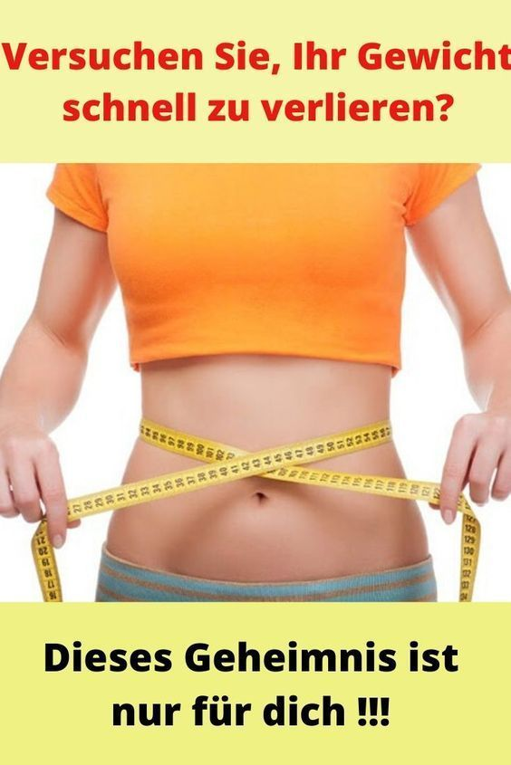 Gewichtsverlust 10 Kilo schnell