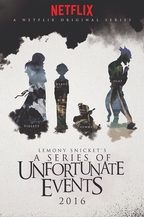 Image result for a series of unfortunate events netflix poster