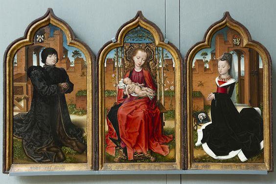 JAN DE WITTE TRIPTICO 1473