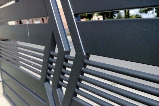 Ogrodzenie Panelowe Plot Brama Palisada Gobe 369 8832799588 Oficjalne Archiwum Allegro House Gate Design Steel Gate Design Iron Gate Design