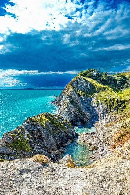 "The Jurassic Coast ~ ""is the only place on earth where 185 million years of Earth's history are  sequentially exposed, in dramatic  cliffs and secluded coves""-Royal Geographical Society, Dorset,England."