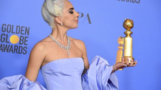 Lady Gaga wins Golden Globe