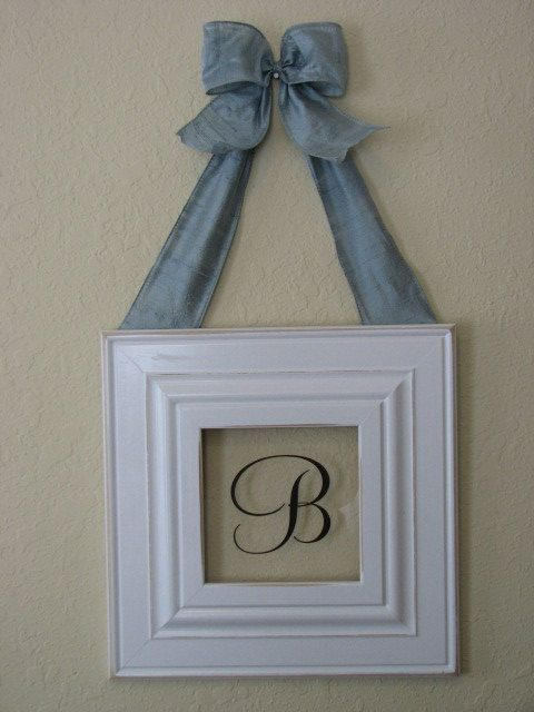 Monograms Monogram frame and Frames on Pinterest