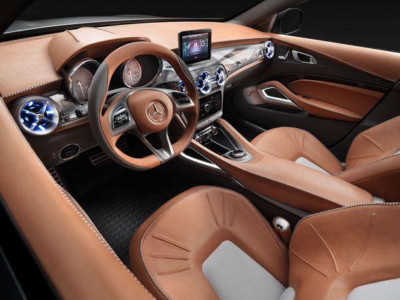 Mercedes-Benz Concept GLA Interior