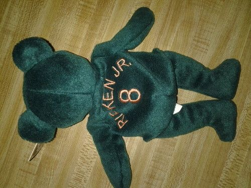Cal Ripken Jr. MLB Bamm Beano Bear #8 Green Bear (Beanie Baby Type) Major League Baseball: Beanie Baby, Beano Bear, Baby Type, Bamm Beano, Find Items, Cal Ripken