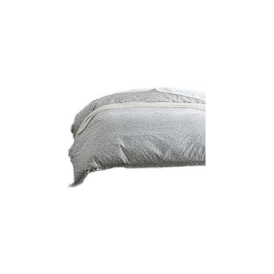 Legends Willow Gray Sateen Duvet Cover, King ❤ liked on Polyvore featuring  home, bed