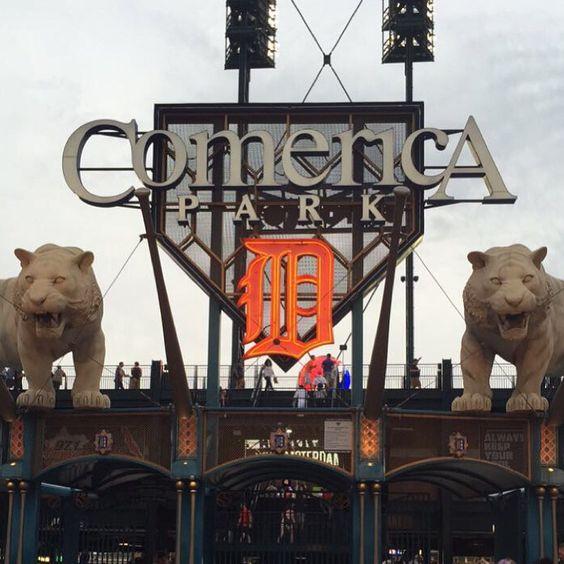 Comerica Park! Detroit Tigers