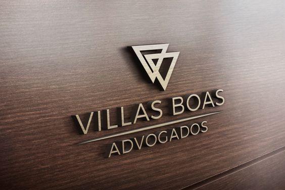 Logo criado para a Advocacia Viilas Boas  #logo #logotipo #advogados #advocacia