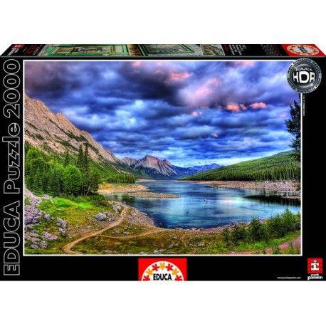 Medicine Lake - Canada, Educa Puzzle 2000 pc
